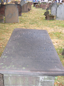 David Gardiner's Grave, Hartford, CT.