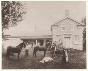 Oliver and Sarah Secor's Farm, Central, NY