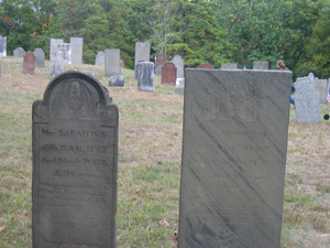 Isaac and Sarah Holt's Graves, Willington, CT