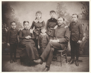 George Henry Terry family